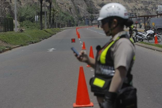Juegos Panamericanos Deben reubicar circuitos por deslizamientos en la costa verde