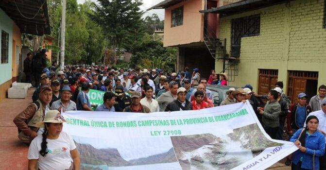 """Ronderos alzan su voz en las calles de Piura para exigir la liberación de """"Jaco"""""""