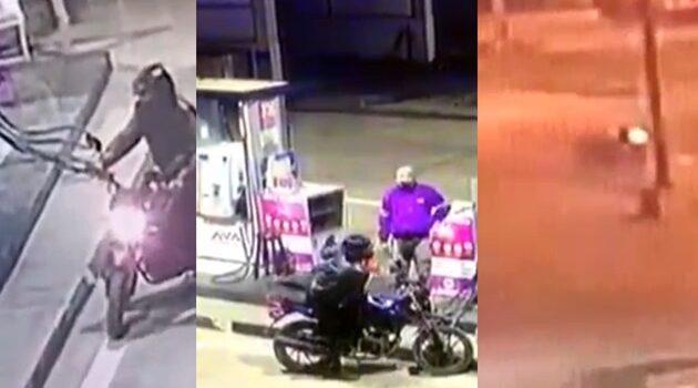 Tumbes: Mientras huye, delincuente cae al pavimento al intentar asaltar un grifo