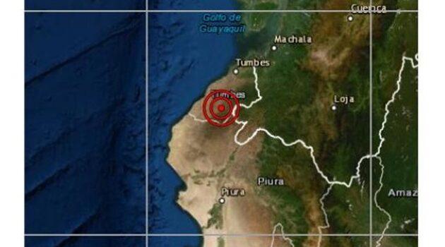 Sismo de magnitud 4.0 se registró esta tarde en Tumbes