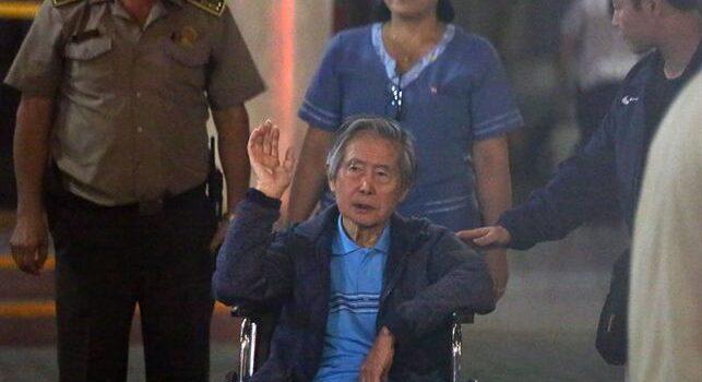 Expresidente Fujimori fue internado en una clínica tras presentar taquicardia