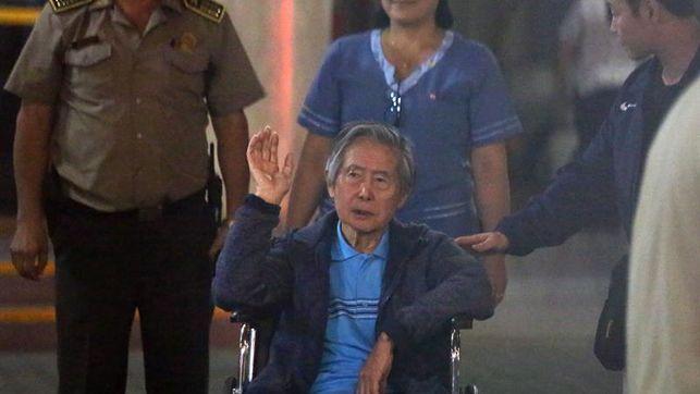 expresidente Fujimori hospitalizado