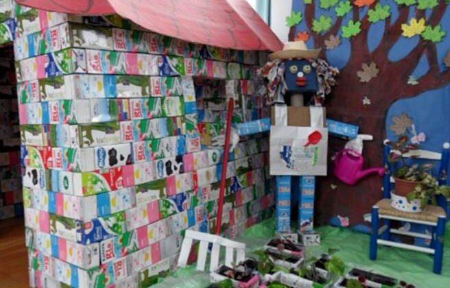 Municipalidad de Castilla anuncia concurso de reciclaje en colegios