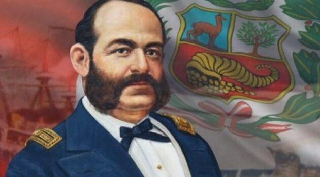 Familiar del caballero de los mares Miguel Grau le rinde homenaje