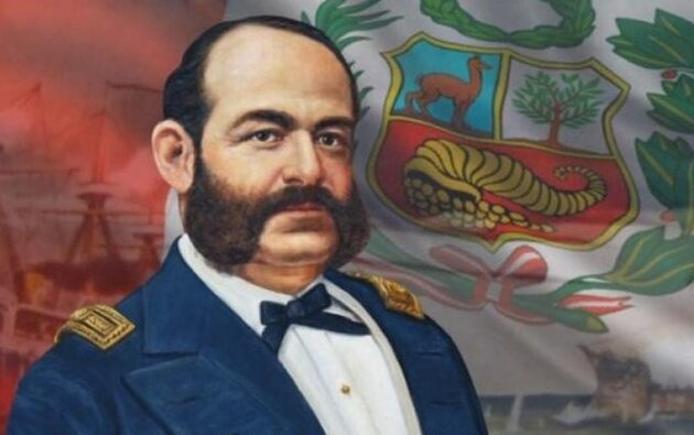 Familiar de Miguel Grau le rinde homenaje