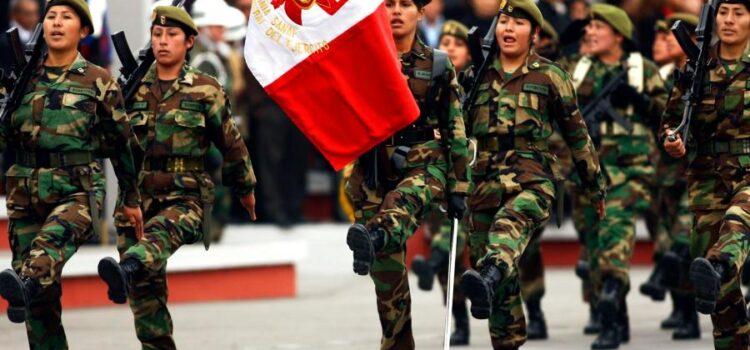 Fuerzas Armadas velarán por el orden en elecciones congresales 2020