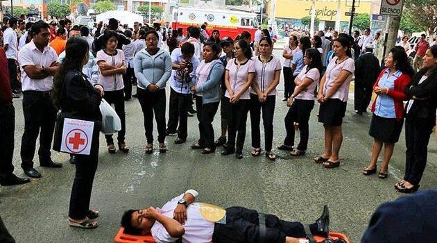 Durante simulacro de sismo se estimó más de 9 mil fallecidos