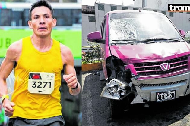 Maratonista peruano que aspiraba llegar a Tokio 2020 murió atropellado