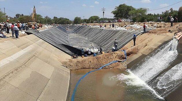 Comienza a restablecerse el servicio de agua en Piura