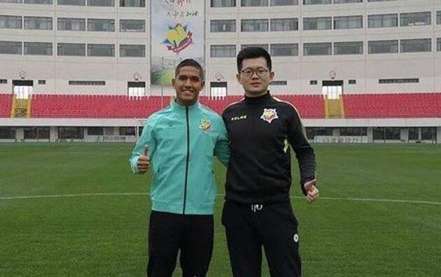 Exjugador de Universitario renuncia a Perú y se nacionaliza chino