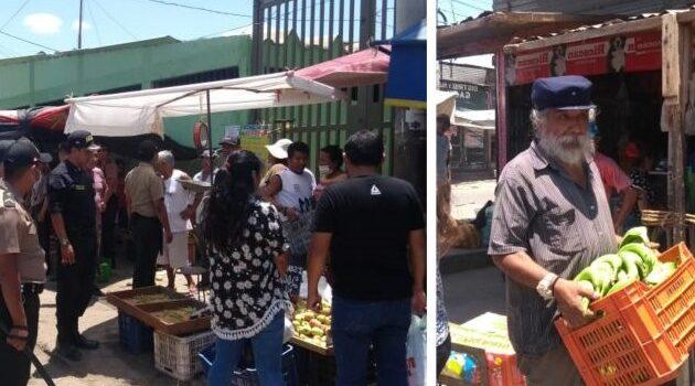 Ambulantes fueron retirados de las vías públicas del Complejo de Mercado