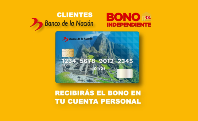 Bono Independiente de S/ 380 soles