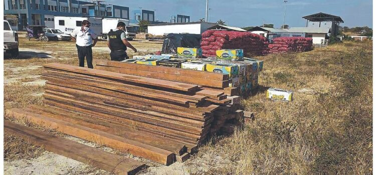 Incautan productos de contrabando en diferentes operativos