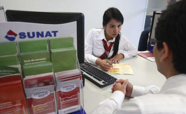 información financiera Sunat