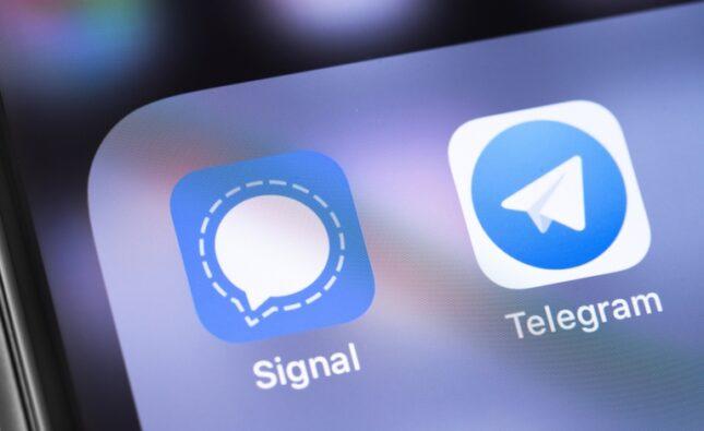 Telegram y Signal ilimitadas para las telefonías móviles