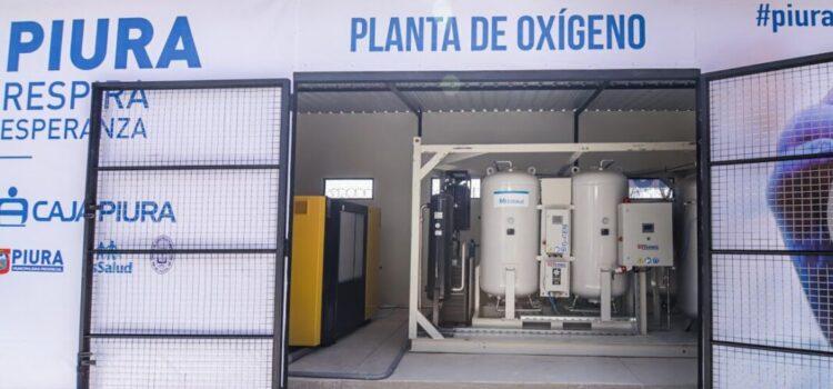 Planta de oxígeno donada por caja Piura ya opera en hospital La Videnita