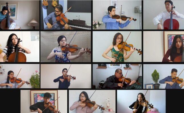 Bicentenario: Jóvenes trujillanos promueven proyecto artístico – musical