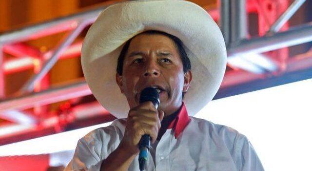 Con mitin en provincia de Chota Pedro Castillo inicia campaña