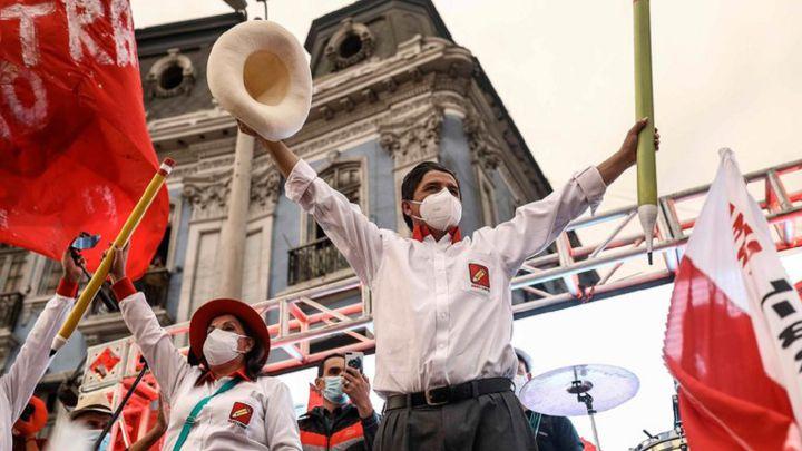 Pedro Castillo propone destinar el 10% del PBI al sector salud