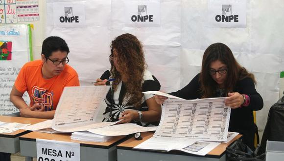 Elecciones 2021: Miembros de mesa reciben capacitación por la ONPE