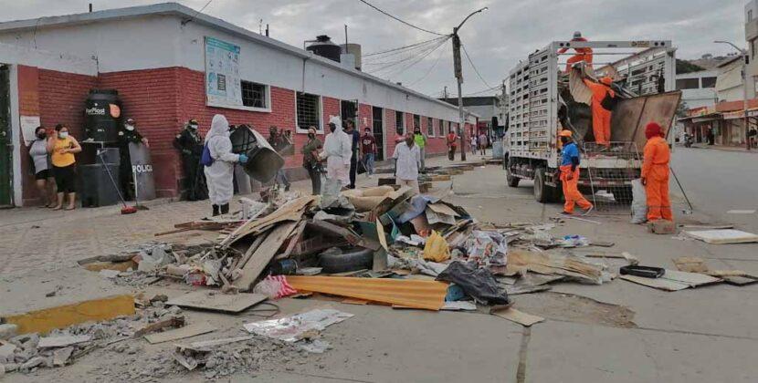 Piura: Recogen ocho toneladas de basura en Talara
