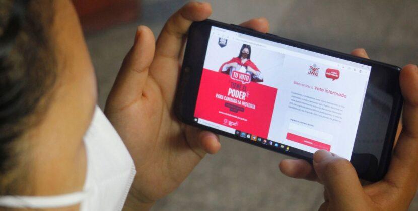 Peruanos en el exterior podrán reportar irregularidades en app de votación