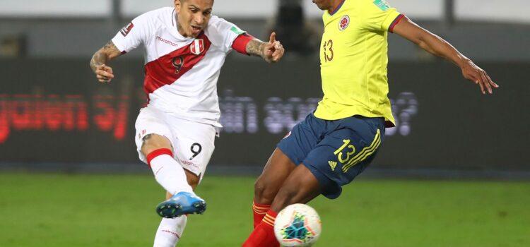 Perú recibe goleada de Colombia en eliminatorias sudamericanas