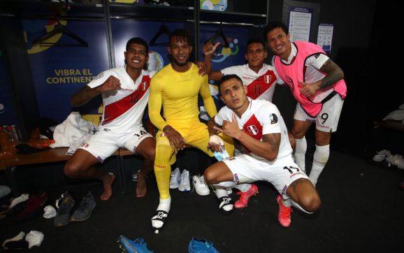 Perú está en los cuartos de final de la Copa América