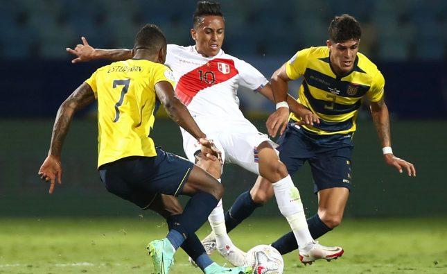 Selección Peruana con un pie y medio en los cuartos de final