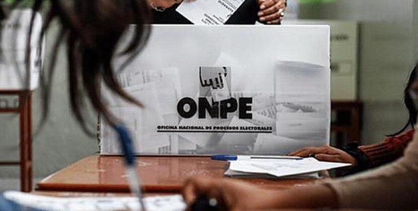 ONPE ya recibió las actas electorales del extranjero