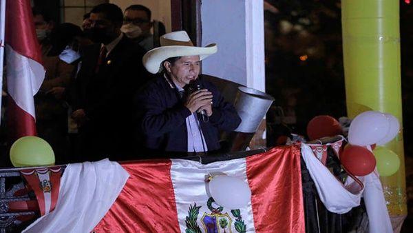 """Pedro Castillo: """"Tenemos que ser respetuosos de la voluntad popular"""""""
